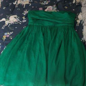 A green mini Dress!